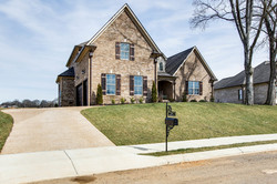 front-side of house Lot 183 AR