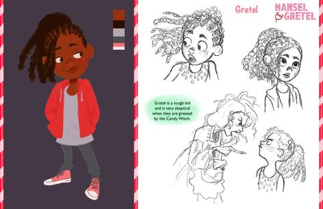 Hansel & Gretel Vis Dev Project - Gretel