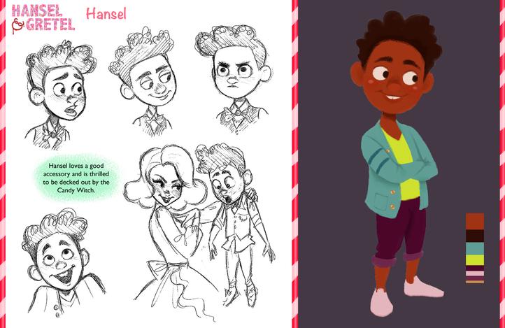 Hansel & Gretel Vis Dev Project - Hansel