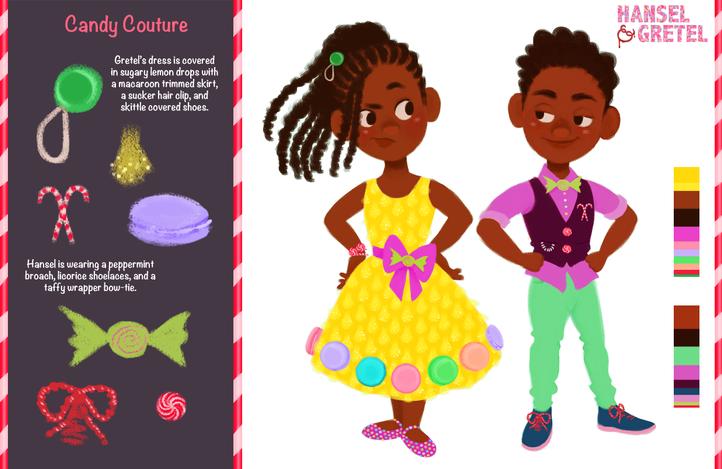 Hansel & Gretel Vis Dev Project - Candy Couture