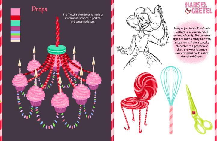 Hansel & Gretel Vis Dev Project - Props