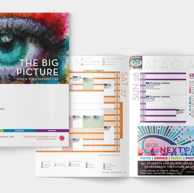 event book & schedule