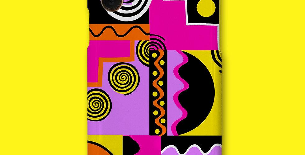 90'S SUNSET PHONE CASE