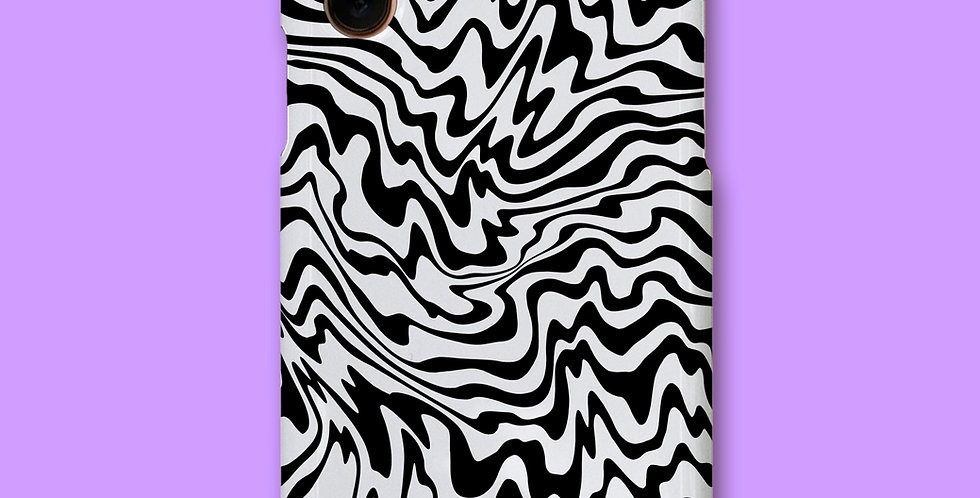 TRIPPY ZEBRA PHONE CASE