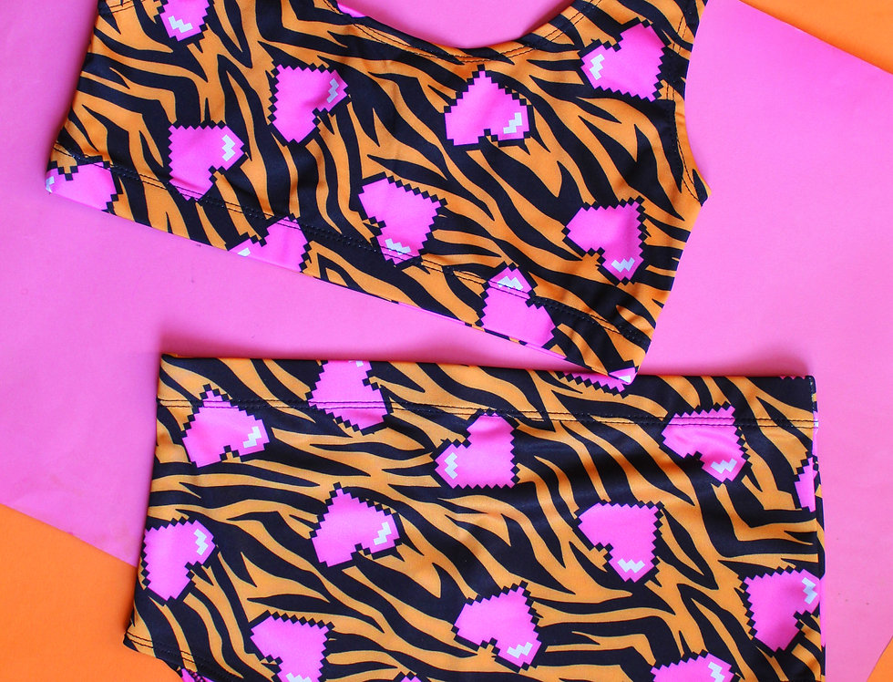 TIGER LOVE BIKINI SET