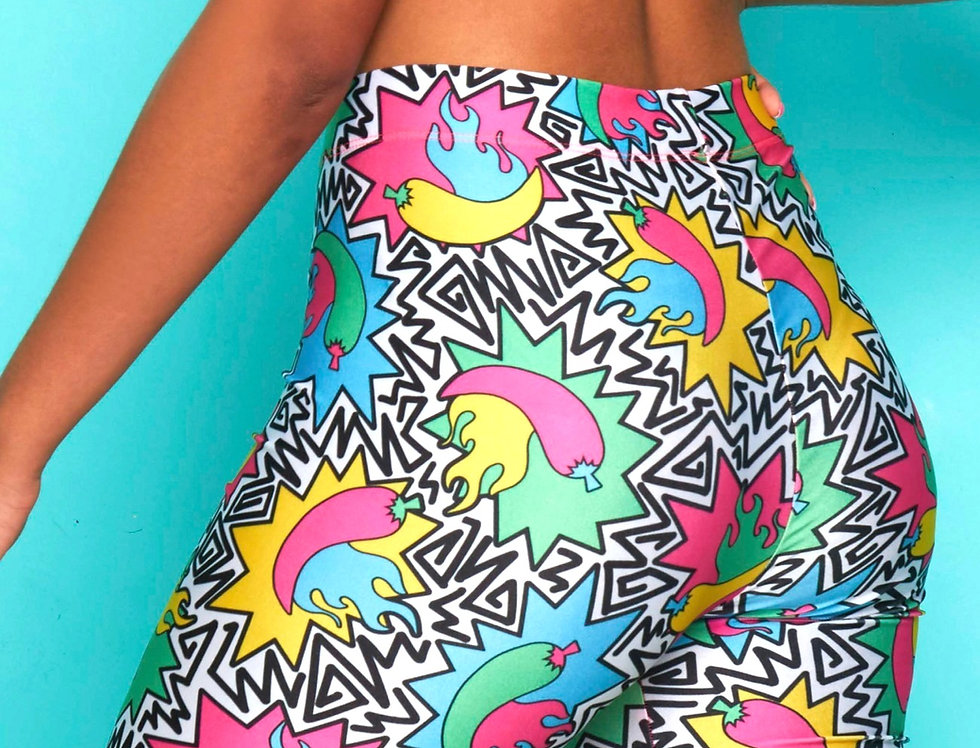 HOT IN THE 90'S CYCLE SHORTS