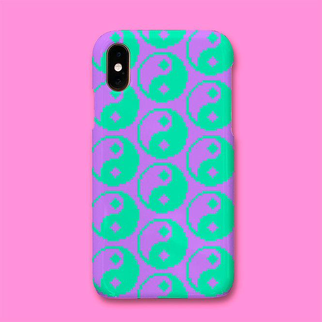 PASTEL YIN YANG PHONE CASE