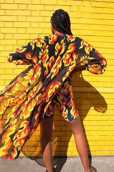 FLAME KIMONO - TRUE FLAME