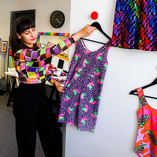 Tara Khorzad in her South London studio