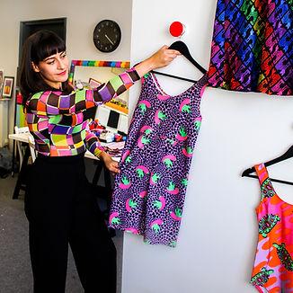 Tara Khorzad in her South London studio