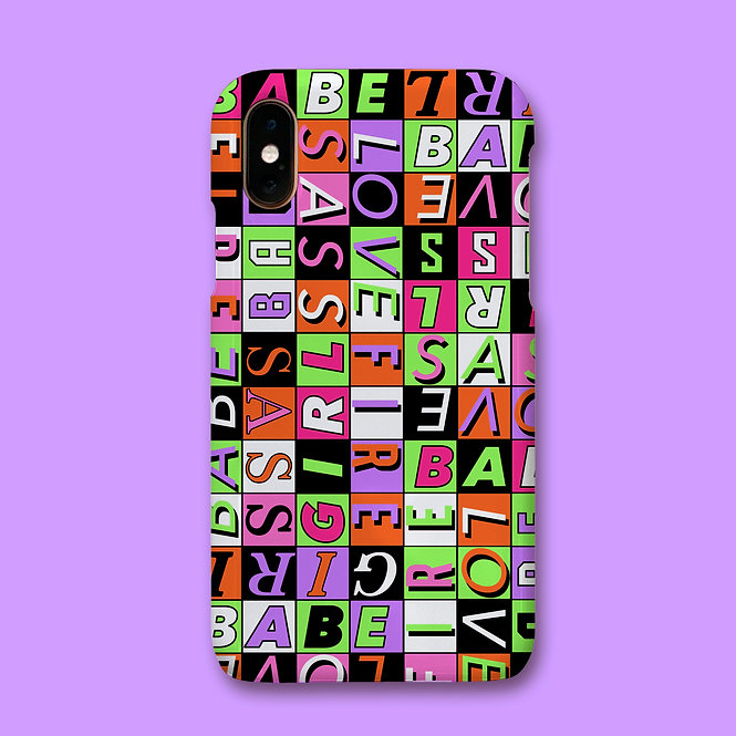 BABEIN' PHONE CASE