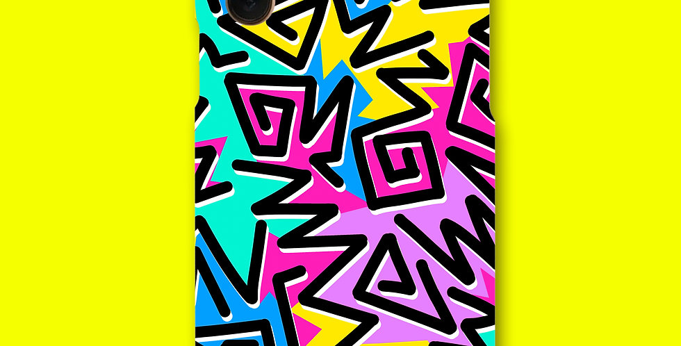 ZIGZAG CLASH PHONE CASE