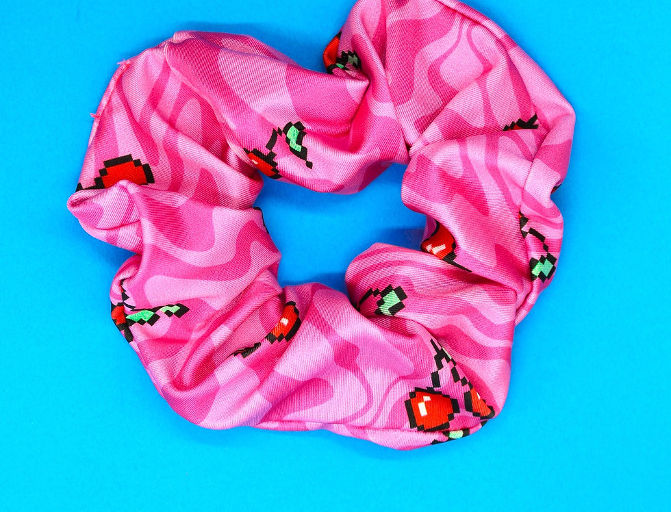 TRIPPY CHERRY SCRUNCHIE