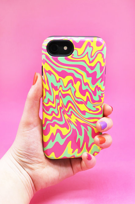 TRIPPY MELT PHONE CASE