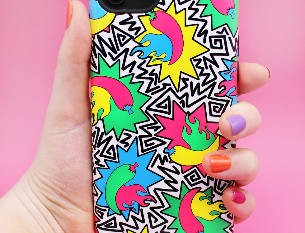 HOT IN THE 90's CHILLI PHONE CASE