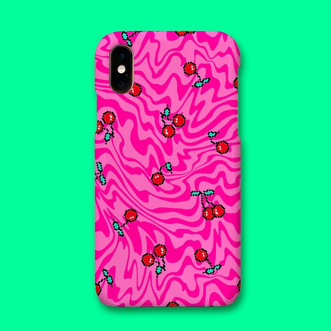 CHERRY TRIPPY PHONE CASE