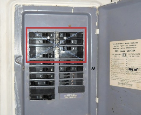 Replace a fuse box.