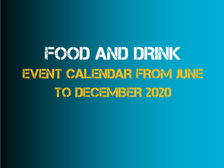 Free marketing calendar for restaurant, takeaway and bar owners