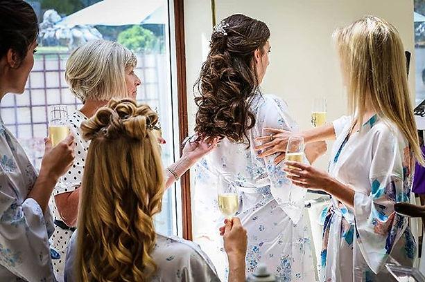 Great fun doing this wedding with__suesallaboutyou #makeup artist#wedding #bridesmaidshair