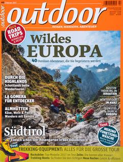 Magazine Outdoor Germany