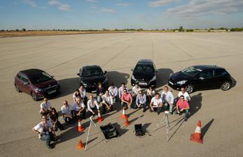 Testing Team at brake testing