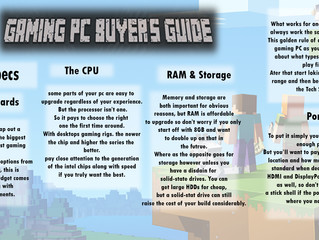 GAMING PC BUYER'S GUIDE