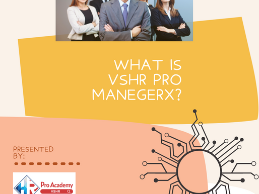 What is VSHR Pro ManagerX?