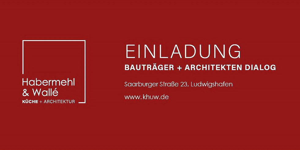 BAUTRÄGER + ARCHITEKTEN DIALOG