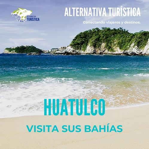 Visita las Bahías de HUATULCO