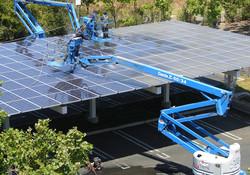 mycie solarow
