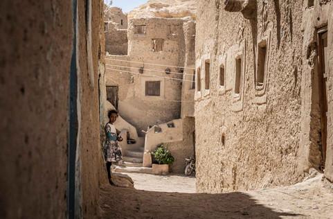 Bewohnte Altstadtruinen