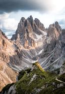 Die Drei Zinnen, Dolomiten