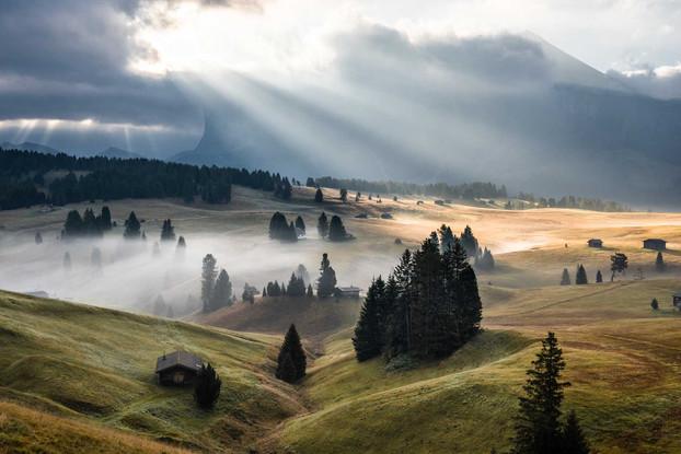 Seiser Alm, Dolomiten