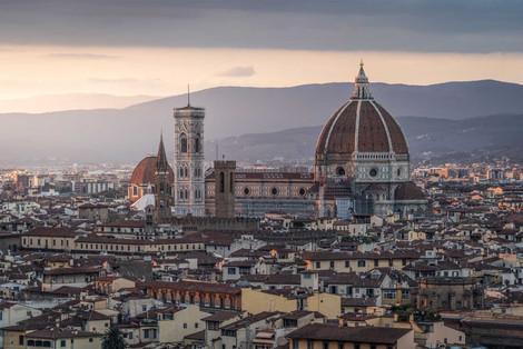 Stadtbild von Florenz