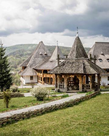 Hölzerner Pavillon