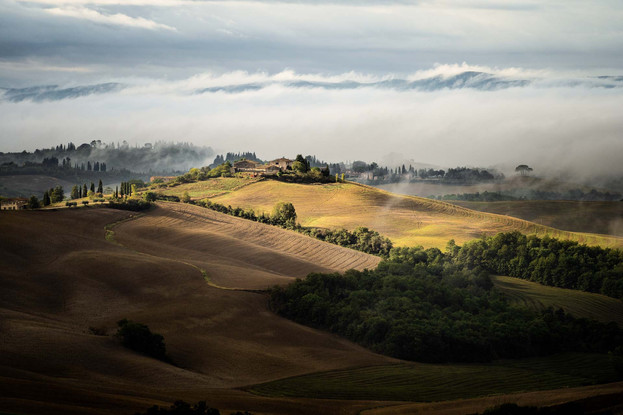 nahe Val d'Orcia, Toskana
