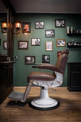 Edler Sessel für Kunden