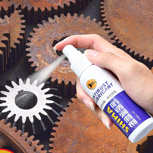 Multipurpose Rust Remover Spray Metal Surface  Glass Coating Car Accessories