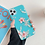 Neon Fluorescent Solid Flower Printed Phone Case for iPhone 11 Pro Max XR X XS Max 7 Case