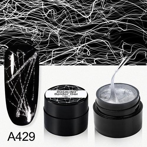 Black color Gel Spider Line for Nails Art Gel Polish UV Colors Painting Gel