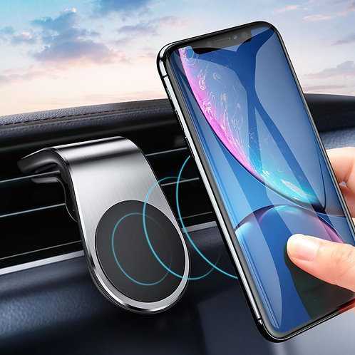 phone holder in car through magnet best product 2020
