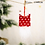 Thumbnail: Cute Felt Wooden Elk Christmas Tree Decoration Hanging Pendant Deer of Year 2021