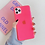 Pink Fluorescent Solid Neon Color Phone Case for iPhone 11 Pro Max XR X XS Max 7 Case