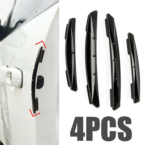 4pcs Car Door Edge Guard  Strip Scratch Protector Car Crash Barrier Door Guard Front View with Car