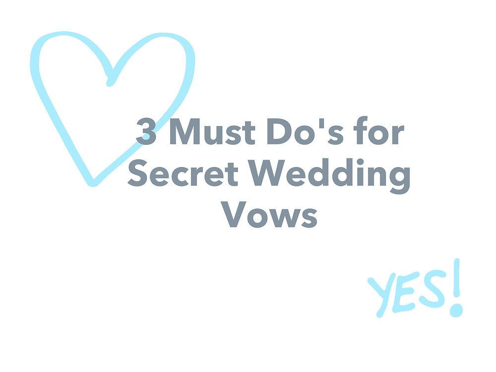 Secret Wedding Wows