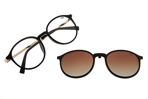 Armação Para Óculos de Grau Unissex Chilli Beans Multi Polarizado Degradê/Preto