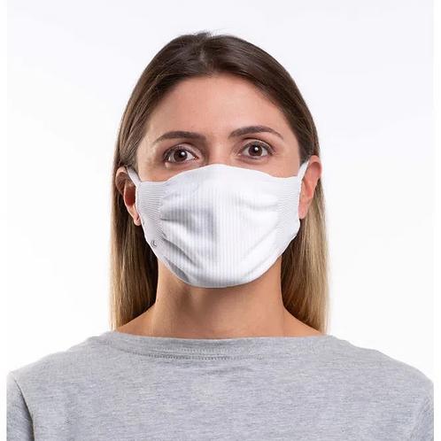 Máscara Zero Costura Vírus Bac-Off  Kit Com 2 Unidades Adulto