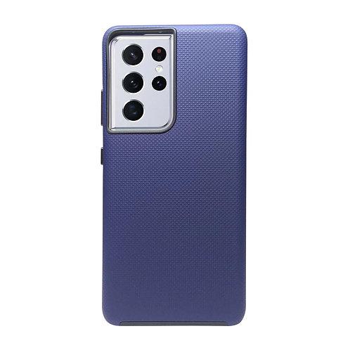 Capa Samsung Galaxy S21 Ultra Anti Impacto III Azul