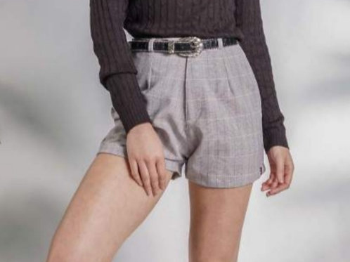 Shorts Xadrez Alfaiataria