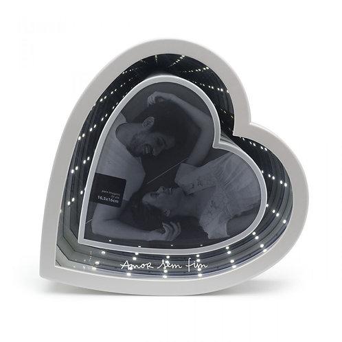 Porta-Retrato Led Infinito Amor